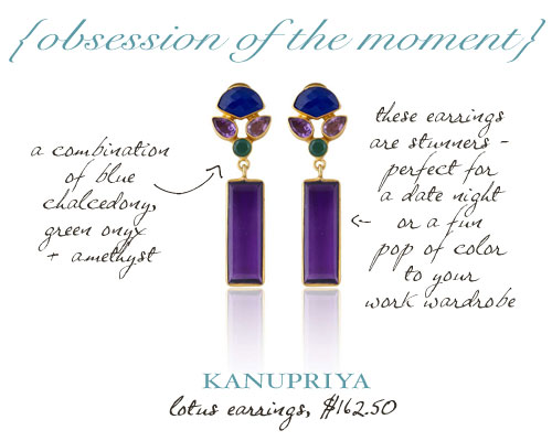 Kanupriya Lotus Earrings