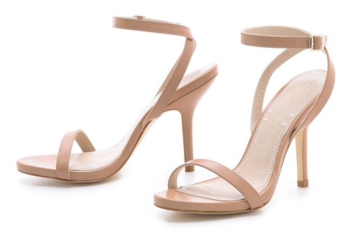 elizabeth and james toni nude ankle strap sandals